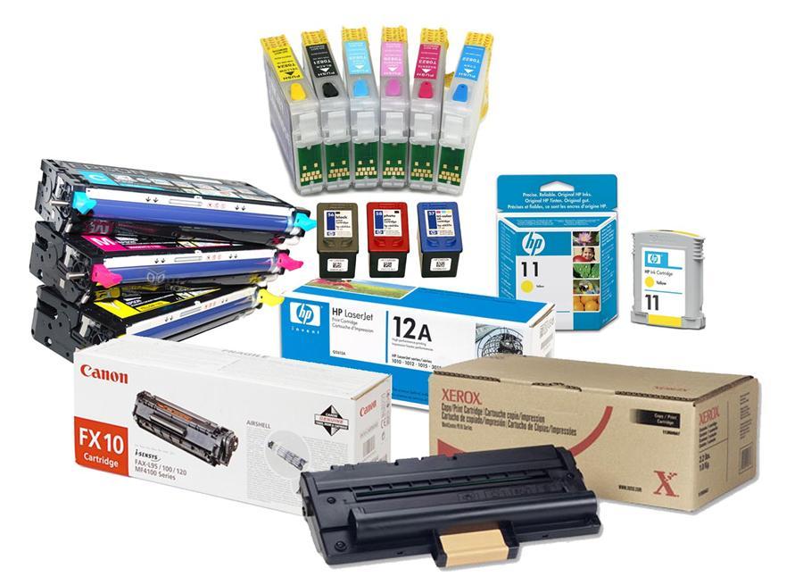 Как производится заправка разных видов картриджей принтера