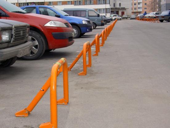 Барьеры для парковки на заказ