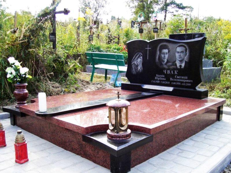 """Закажите изготовление двойных памятников в компании """"Антик"""""""