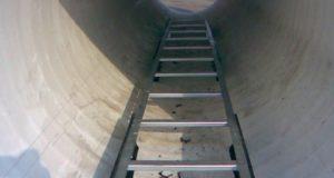 Лестницы для спуска в подземные коммуникации