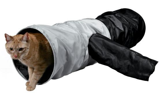 Тоннели для кошек – лучший подарок для домашнего любимца