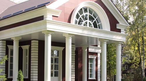 Для чего нужна фасадная лепнина?