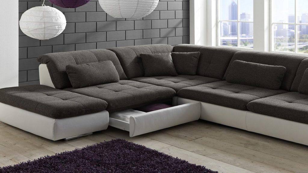 Стильные диваны: модульные и угловые