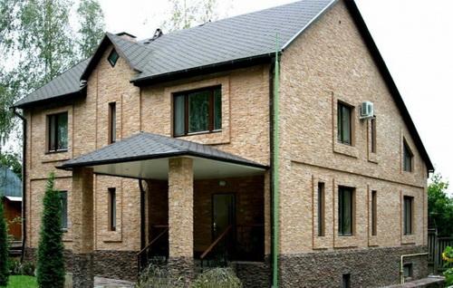Fasad Stone – отделка цоколя и фасада дагестанским камнем