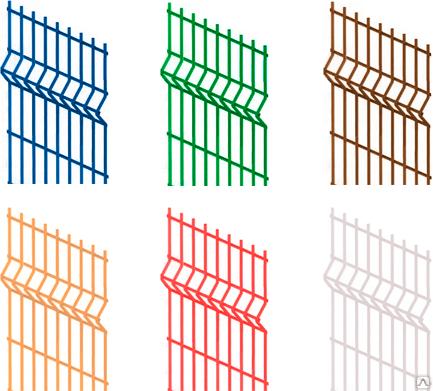 3D-забор – выгодное решение для загородного дома
