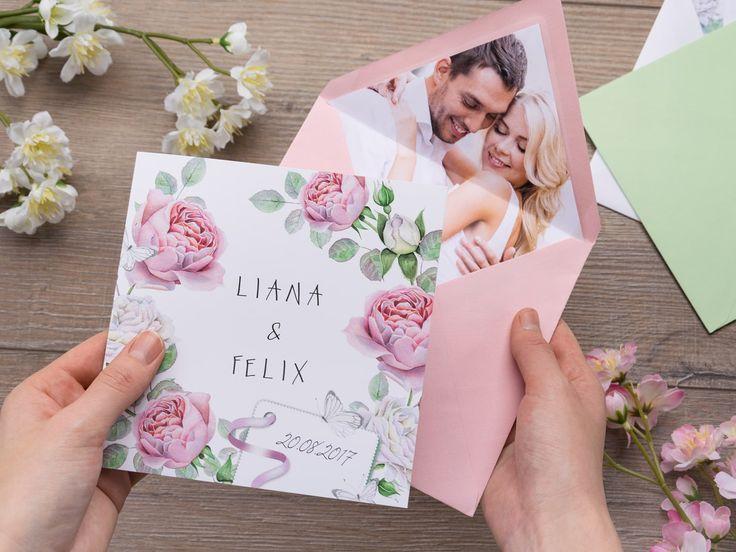 Как лучше вручать пригласительные на свадьбу