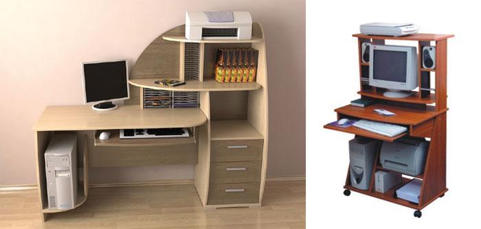 Функциональные компьютерные столы в интернет-магазине «Декор-Мебель»