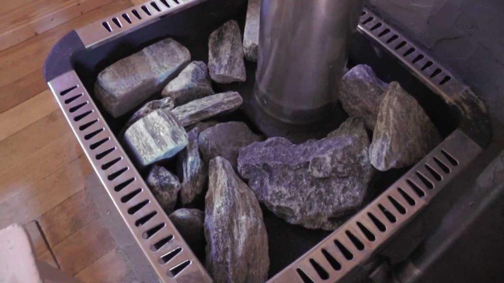 Как правильно укладывать камни в каменку?