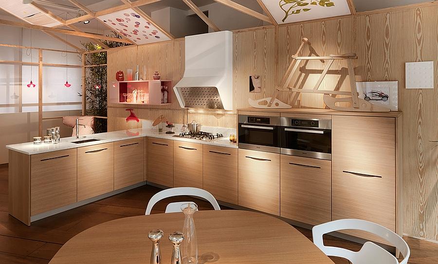 Кухня - пульсирующий центр дома