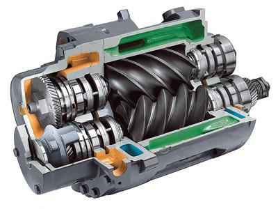 Особенности винтовых компрессоров