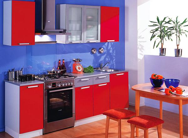 Мебелик – оригинальный кухонный гарнитур «Техно»