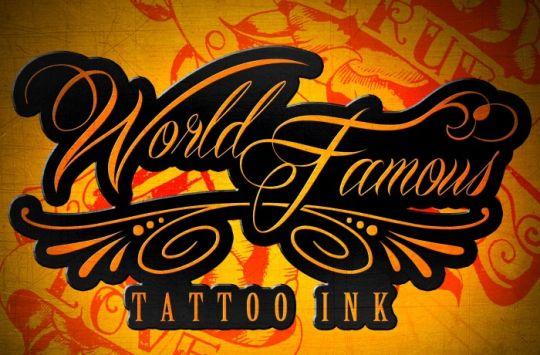Инновационная краска для тату под названием World Famous Ink