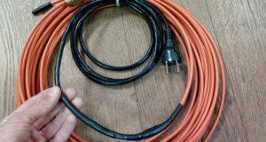 Сферы применения греющего кабеля