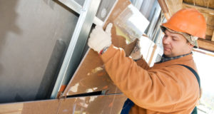 Как установить вентилируемый фасад из керамогранита?