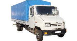Тент на грузовой ЗИЛ