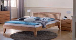 Кровать из массива бука